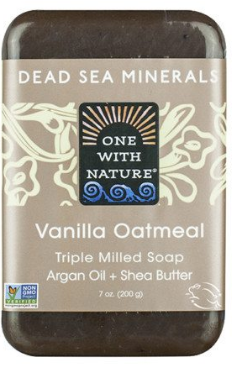Image of Dead Sea Minerals Bar Soap Vanilla Oatmeal