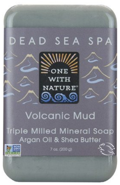 Image of Dead Sea Spa Bar Soap Volcanic Mud