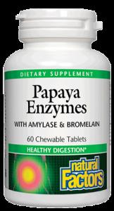 Image of Papaya Enzyme with Amylase & Bromelain Chewable