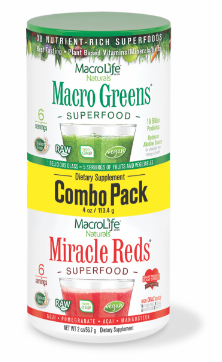 Image of Miracle Reds & Macro Greens Powder Combo Pack