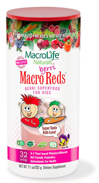 Image of Kids Macro Berri Reds Berry Superfood Powder 32 Servings