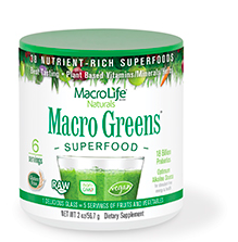 Image of Macro Greens Superfood Powder 6 Servings