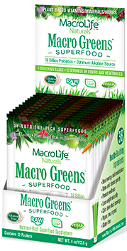 Image of Macro Greens Superfood Powder Packet