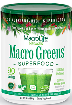 Image of Macro Greens Superfood Powder 90 Servings