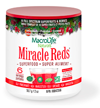 Image of Miracle Reds Superfood Powder 6 Servings