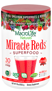 Image of Miracle Reds Superfood Powder 30 Servings