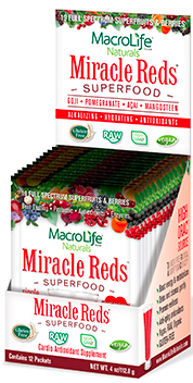 Image of Miracle Reds Superfood Powder Packet
