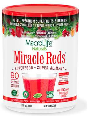 Image of Miracle Reds Superfood Powder 90 Servings