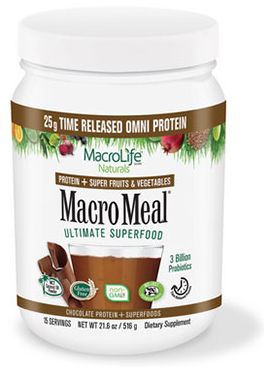 Image of MacroMeal Omni Powder Chocolate 15 Servings