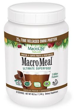 Image of MacroMeal Omni Powder Chocolate 28 Servings