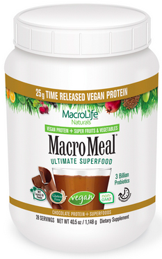 Image of MacroMeal Vegan Powder Chocolate 28 Servings