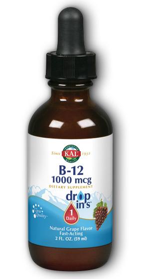 Image of B12 DropIns 1000 mcg Grape