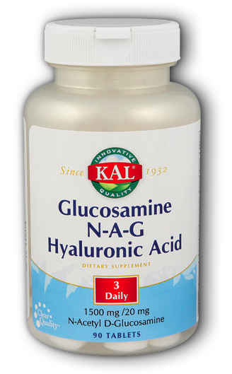 Image of Glucosamine N-A-G Hyaluronic Acid 250/250/6 mg