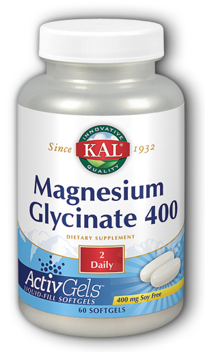 Image of Magnesium Glycinate 400 mg ActivGels