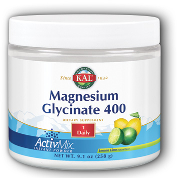Image of Magnesium Glycinate 400 mg Powder ActivMix Lemon Lime