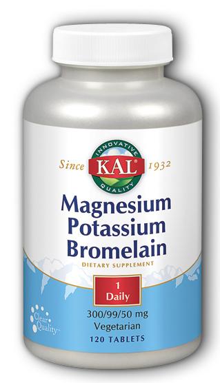 Image of Magnesium Potassium Bromelain 300/99/50 mg