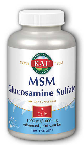 Image of MSM Glucosamine Sulfate 500/500 mg