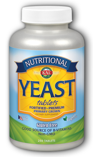 Image of Nutritional Yeast Tablets