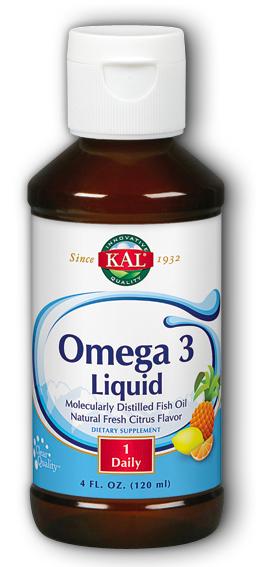 Image of Omega 3 Liquid Fresh Citrus