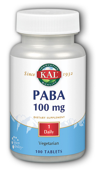 Image of PABA 100 mg