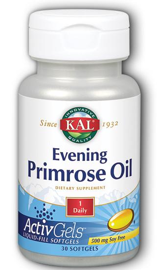 Image of Evening Primrose Oil 500 mg ActivGels