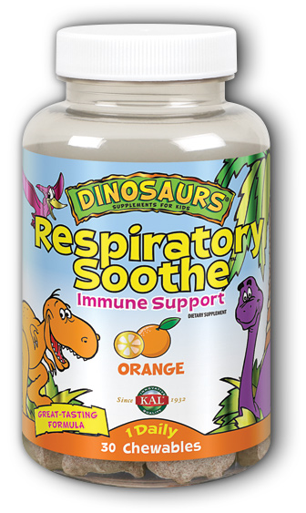 Image of Dinosaurs Respiratory Soothe Chewable Orange