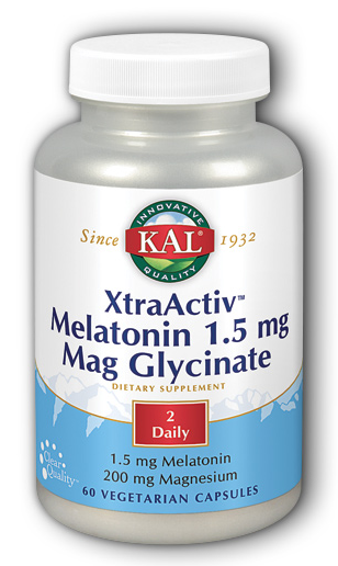 Image of XtraActiv Melatonin Magnesium Glycinate 0.75/100 mg