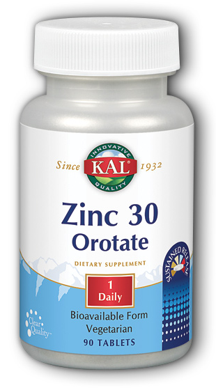 Image of Zinc Orotate 30 mg