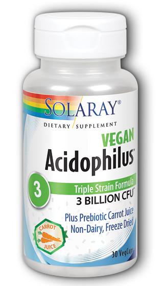 Image of Acidophilus 3 Billion plus Carrot Juice Vegan