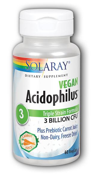Image of Acidophilus 3 Billion plus Carrot Juice Vegan