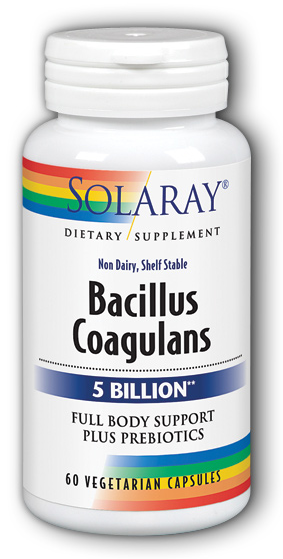 Image of Bacillus Coagulans 5 Billion (Non-Dairy)