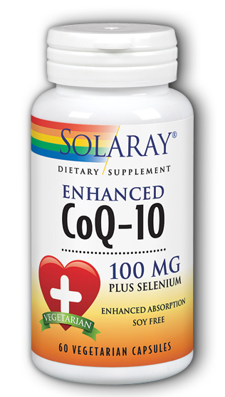 Image of CoQ10 100 mg plus Selenium Enhanced