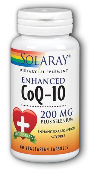 Image of CoQ10 200 mg plus Selenium Enhanced