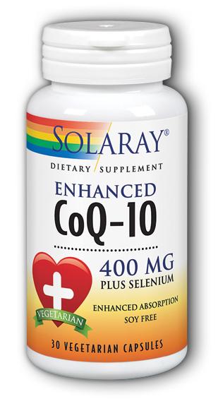 Image of CoQ10 400 mg with Selenium Enhanced