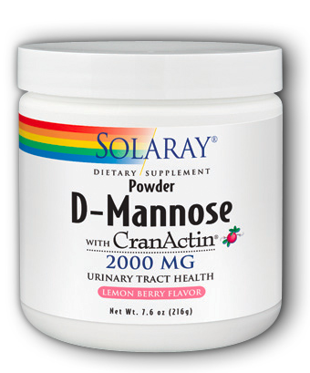 Image of D-Mannose with CranActin Powder Lemon Berry