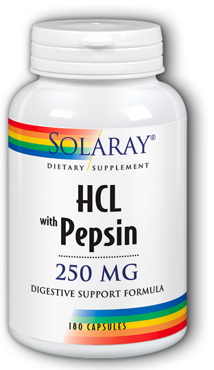 Image of HCL with Pepsin 250 mg