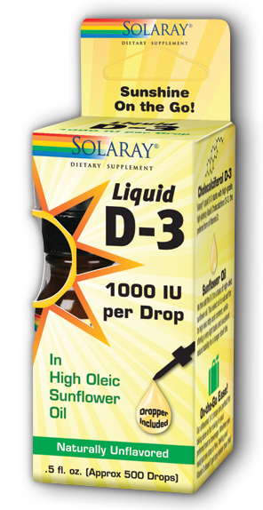 Image of Liquid D-3 1000 IU Organic