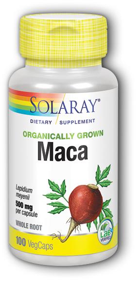Image of Maca 500 mg Organic