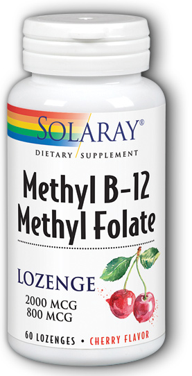 Image of Methyl B12 Methyl Folate 2000/800 mcg Lozenge Cherry