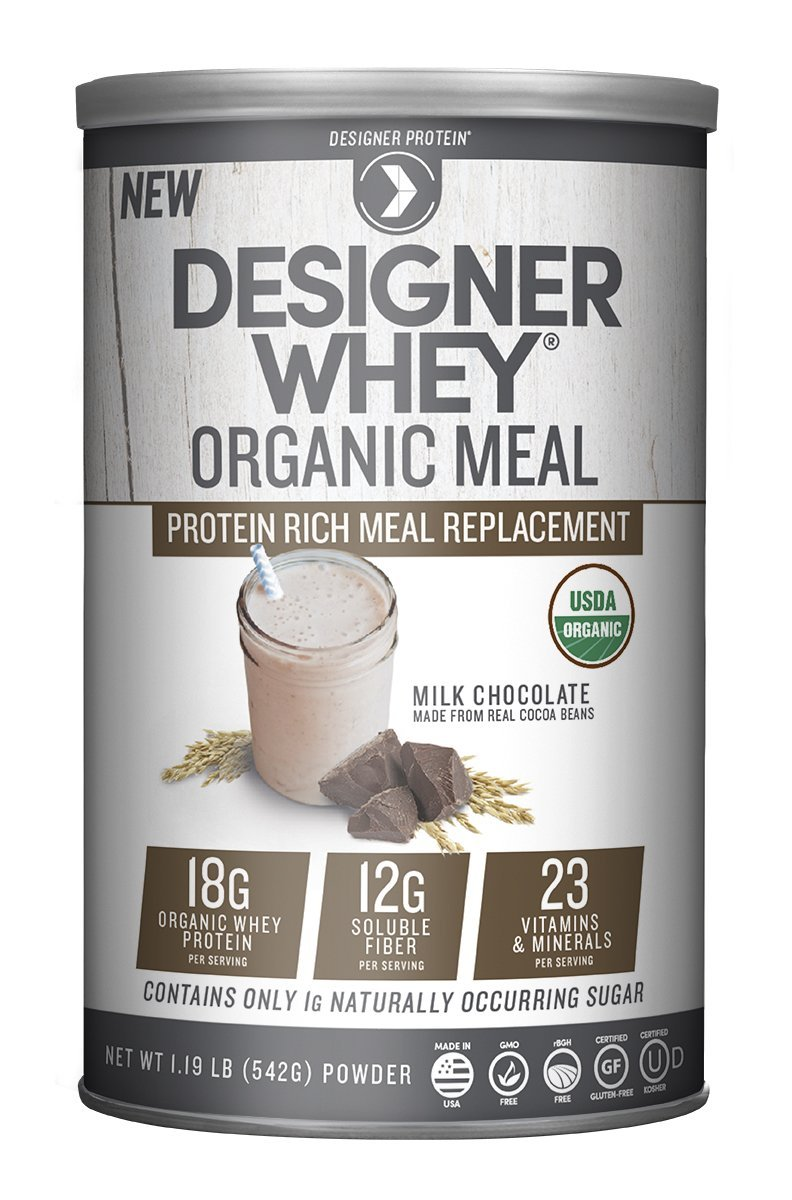 Image of Designer Whey Organic Meal Replacement Milk Chocolate