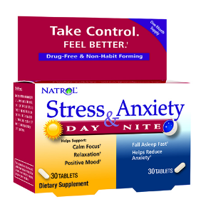 Image of Stress & Anxiety Day & Nite Formulas