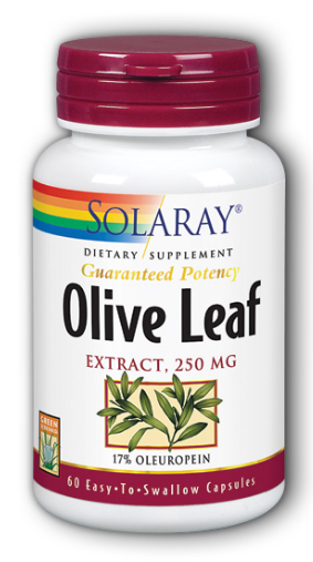 Image of Olive Leaf Extract 250 mg (17% Oleuropein)