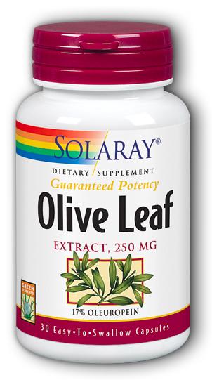 Image of Olive Leaf Extract 250 mg (17% Oleuropein)