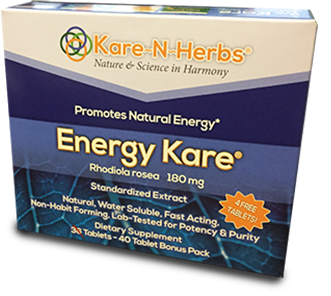 Image of Energy Kare (Rhodiola 180 mg)