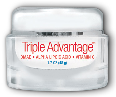 Image of Triple Advantage-Alpha Lipoic Acid, DMAE & Vit C Cream