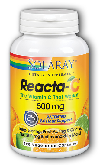Image of Reacta-C 500 mg with Bioflavonoids
