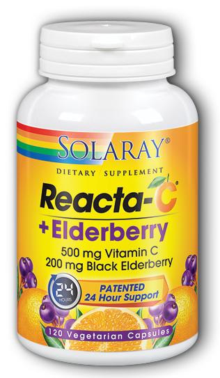 Image of Reacta-C Elderberry 500/200 mg