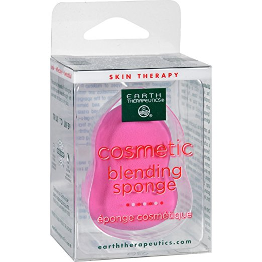 Image of Pink Cosmetic Blending Sponge Latex Free
