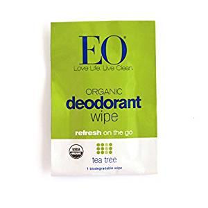 Image of Deodorant Wipes Tea Tree