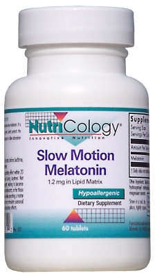 Image of Slow Motion Melatonin 1.2 mg
